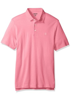 IZOD Men's Solid Interlock Polo