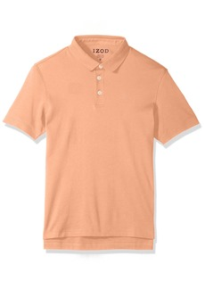 IZOD Men's Solid Interlock Polo Shirt