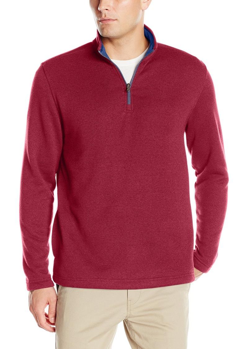 Izod IZOD Men's Spectator 1/4 Zip Sweater Fleece 2X-Large ...