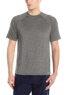 IZOD Men's Sueded Jersey & Flame Heather Shirt