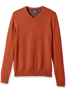 IZOD Men's V-Neck 7gg Long Sleeve Sweater