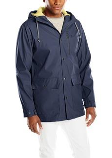 IZOD Men's Waterproof Rain Slicker Jacket