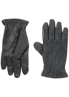 IZOD Men's Wool Touchscreen Gloves with Fleece Lining