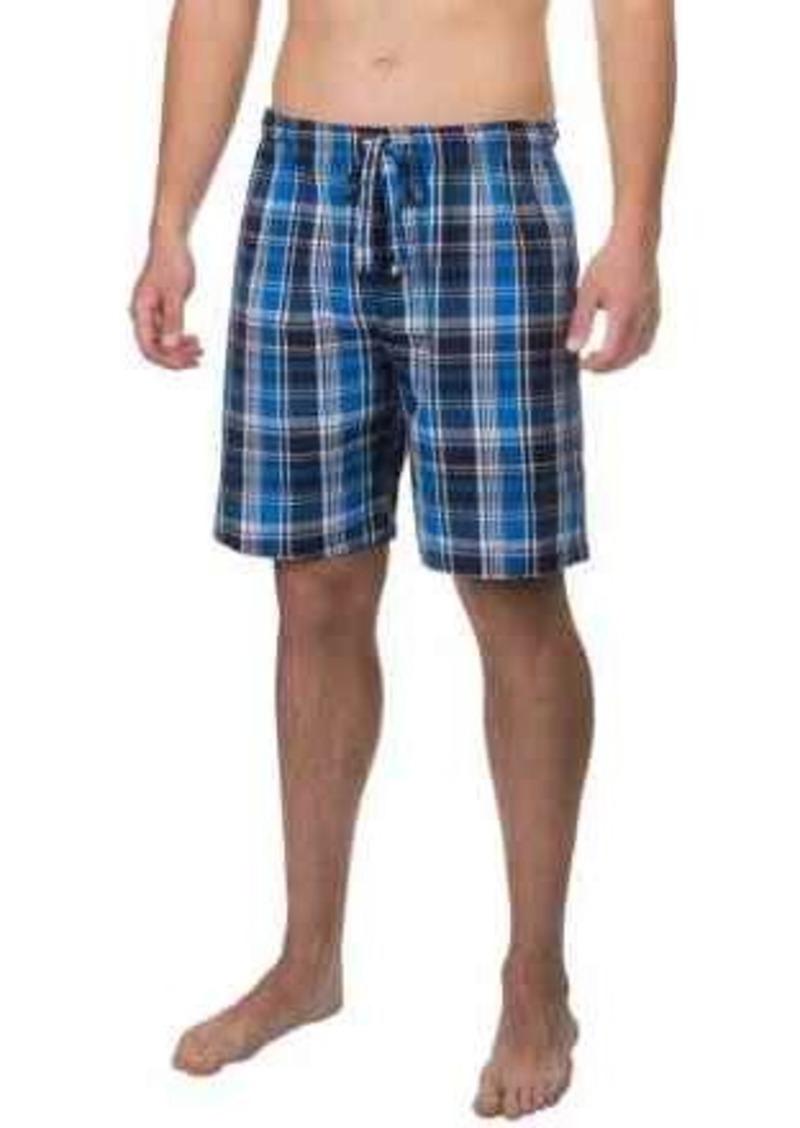 IZOD Plaid Jams Shorts (For Men)