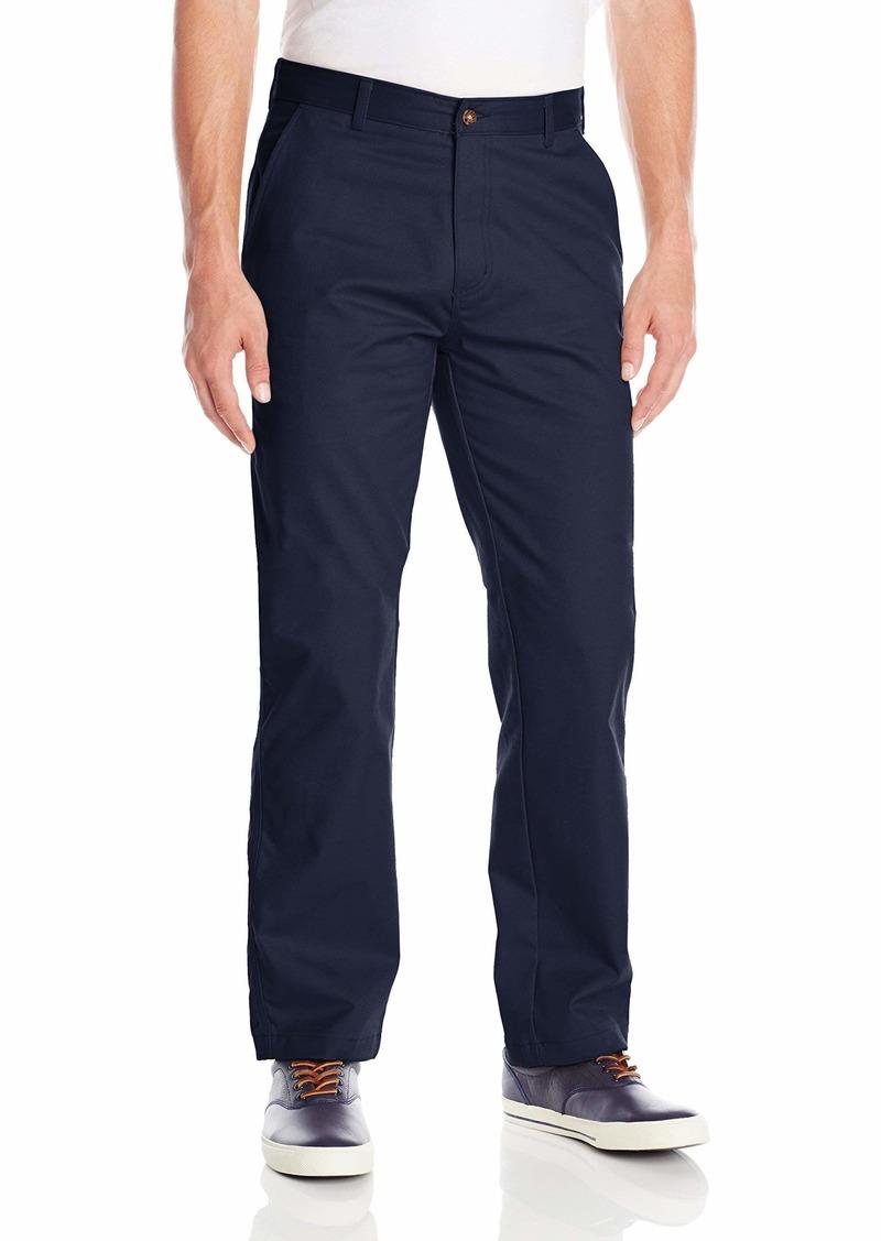 IZOD Uniform Men's Young Classic Fit Flat Front Twill Pant  32x34