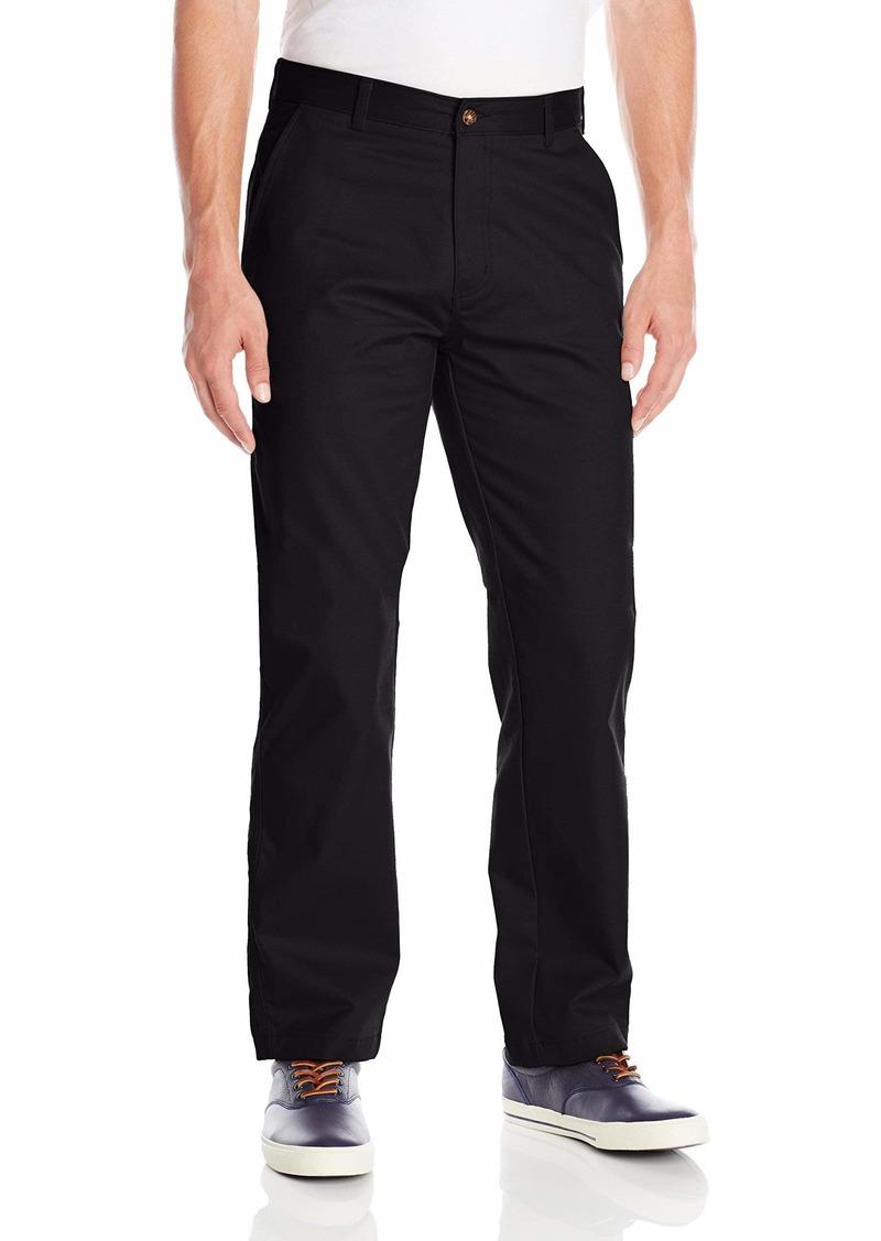 IZOD Uniform Men's Young Classic Fit Flat Front Twill Pant  36x34