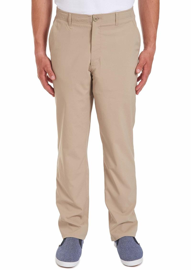 IZOD Uniform Men's Young Flat Front Performance Pant