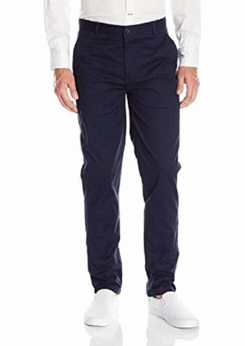 IZOD Uniform Men's Modern Fit Flat Front Twill Pant  42x32