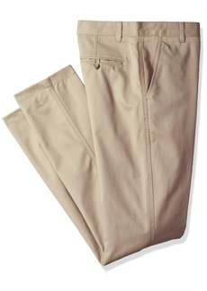 IZOD Uniform Young Men's Flat Front Twill Pant-Straight Fit  33x32