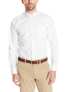IZOD Uniform Young Men's Long Sleeve Oxford Shirt