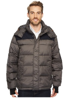 Izod Ultra Warm Insulated Mixed Media Puffer Jacket