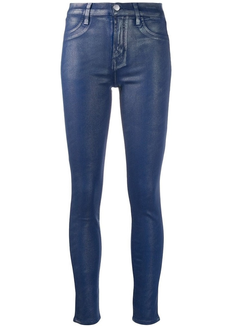 J Brand denim-look leggings