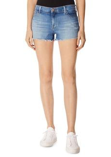 J Brand 1044 Mid-Rise Denim Cutoff Shorts