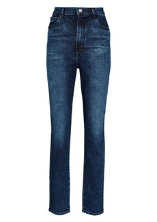 J Brand 1212 Runaway High-Rise Slim Straight Jeans