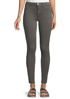 J Brand 485 Mid-Rise Super Skinny-Leg Jeans