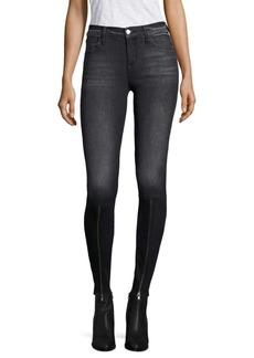 J Brand 620 Zip-Hem Super Skinny Jeans