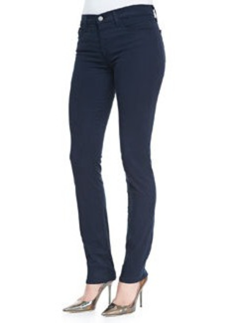 J Brand 811 Luxe Sateen Slim Jeans, Carbon Blue   811 Luxe Sateen Slim Jeans, Carbon Blue