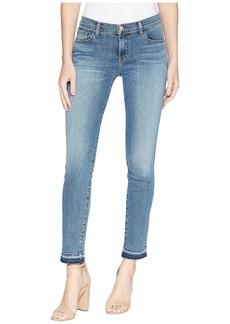 J Brand 811 Mid-Rise Skinny Jeans in Delphi