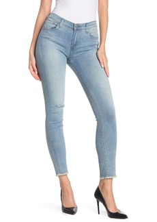 J Brand 811 Raw Hem Ankle Skinny Jeans