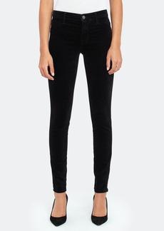 J Brand 815 Mid Rise Super Skinny Velveteen Jeans