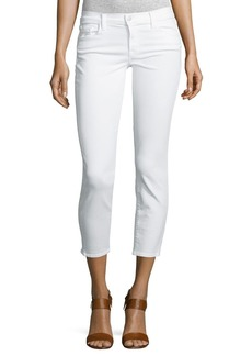 J Brand 835 Mid-Rise Cropped Jeans