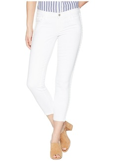 J Brand 9326 Low Rise Crop Skinny in Braided Blanc