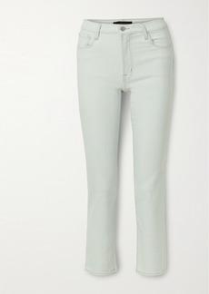 J Brand Adele High-rise Slim-leg Jeans