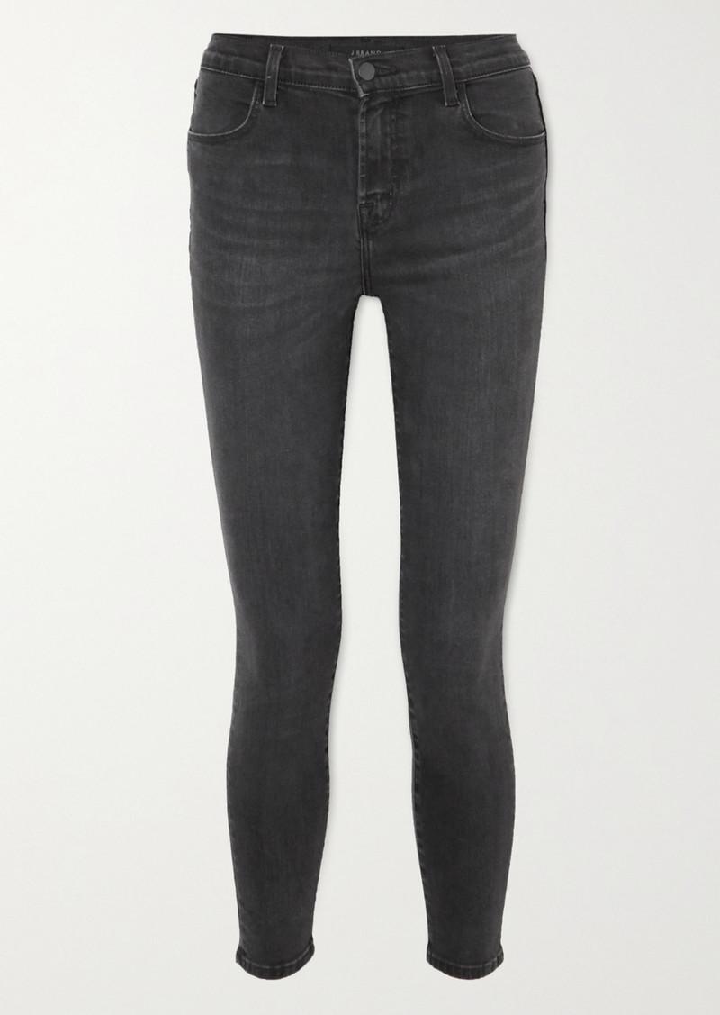 J Brand Alana Cropped High-rise Skinny Jeans