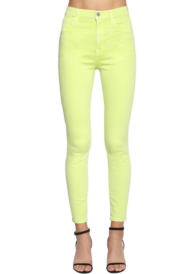 J Brand Alana Cropped Skinny Denim Jeans