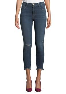 J Brand Alana High-Rise Crop Skinny Jeans
