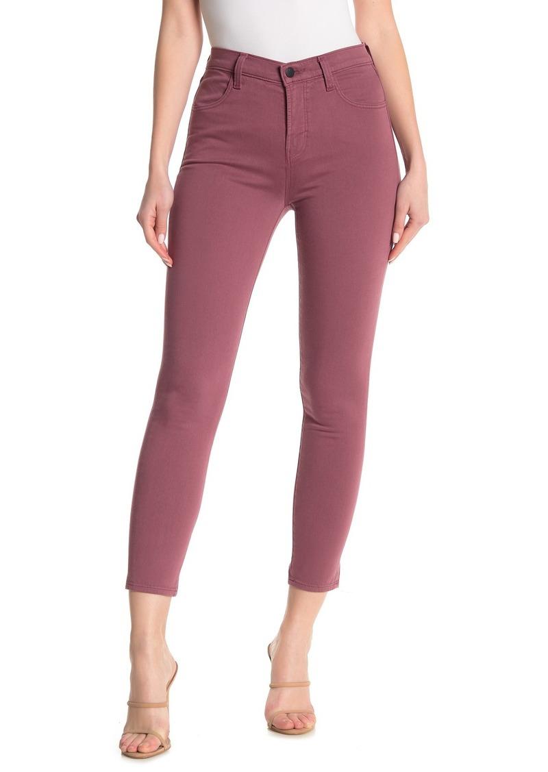 J Brand Alana High Rise Cropped Skinny Jeans