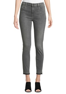 J Brand Alana High-Rise Faded Skinny Jeans