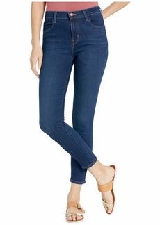 J Brand Alana High-Rise w/ Crop Skinny in Moro