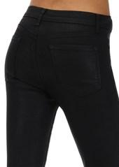 J Brand Alana High Skinny Coated Denim Jeans