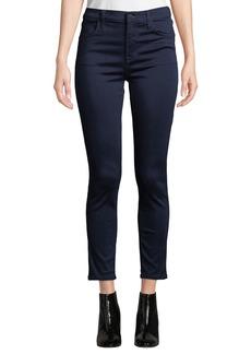 J Brand Alana High-Waist Cropped Skinny Jeans