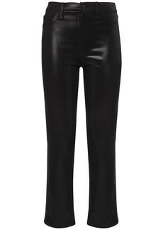 J Brand Alma High Waist Coated Straight Jeans