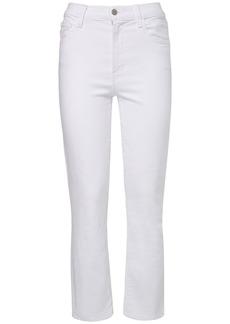 J Brand Alma High Waist Straight Jeans
