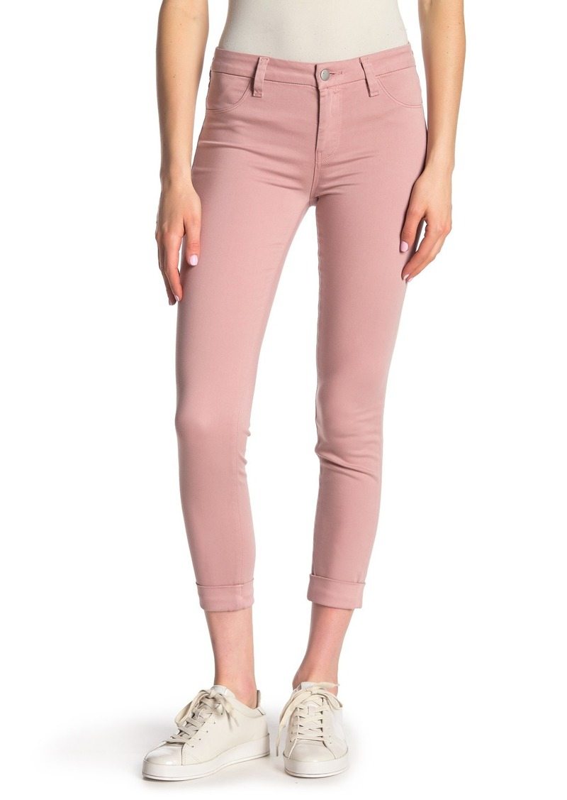 J Brand Anja Mid Rise Cuff Crop Jeans