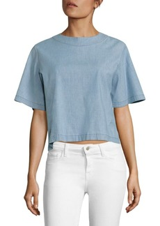 J Brand Archer Cropped Top