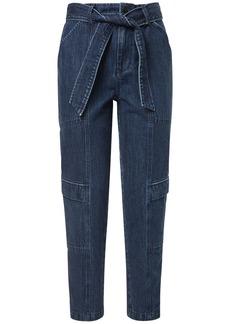 J Brand Athena Utility Jeans W/ Self-tie Waist
