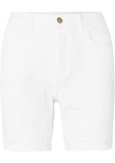 J Brand Billey Frayed Denim Shorts