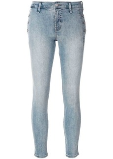 J Brand bleached effect skinny trousers