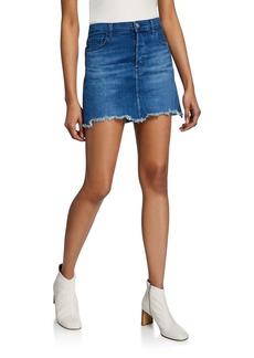 J Brand Bonny Mid-Rise Mini Skirt