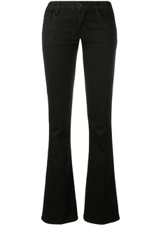 J Brand bootcut low-rise jeans