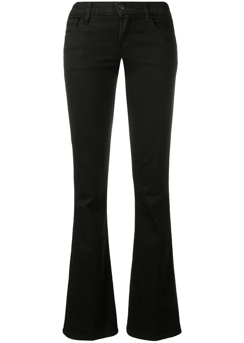 J Brand bootcut low-rise jeans