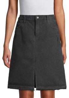 J Brand Carolina Super High-Rise Cotton Skirt