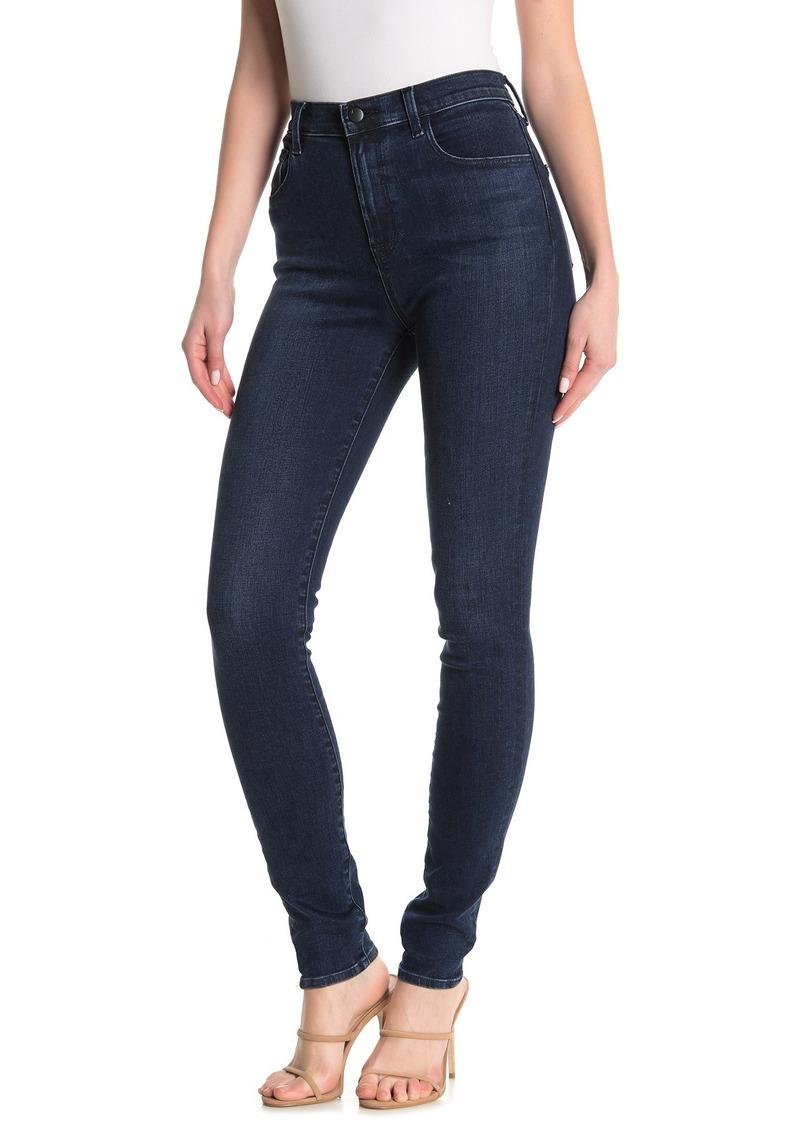 J Brand Carolina Super High Rise Skinny Jeans