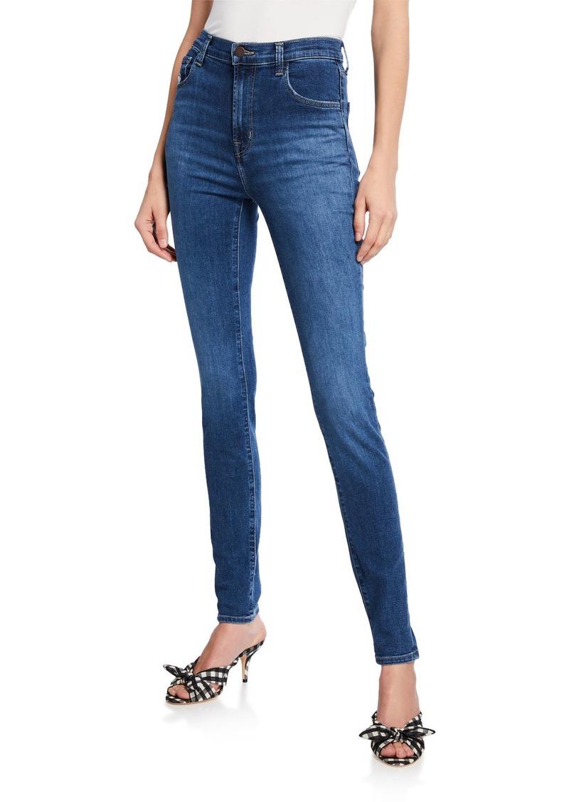 J Brand Carolina Super High-Rise Skinny Jeans