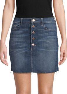 J Brand Classic Distressed Skirt