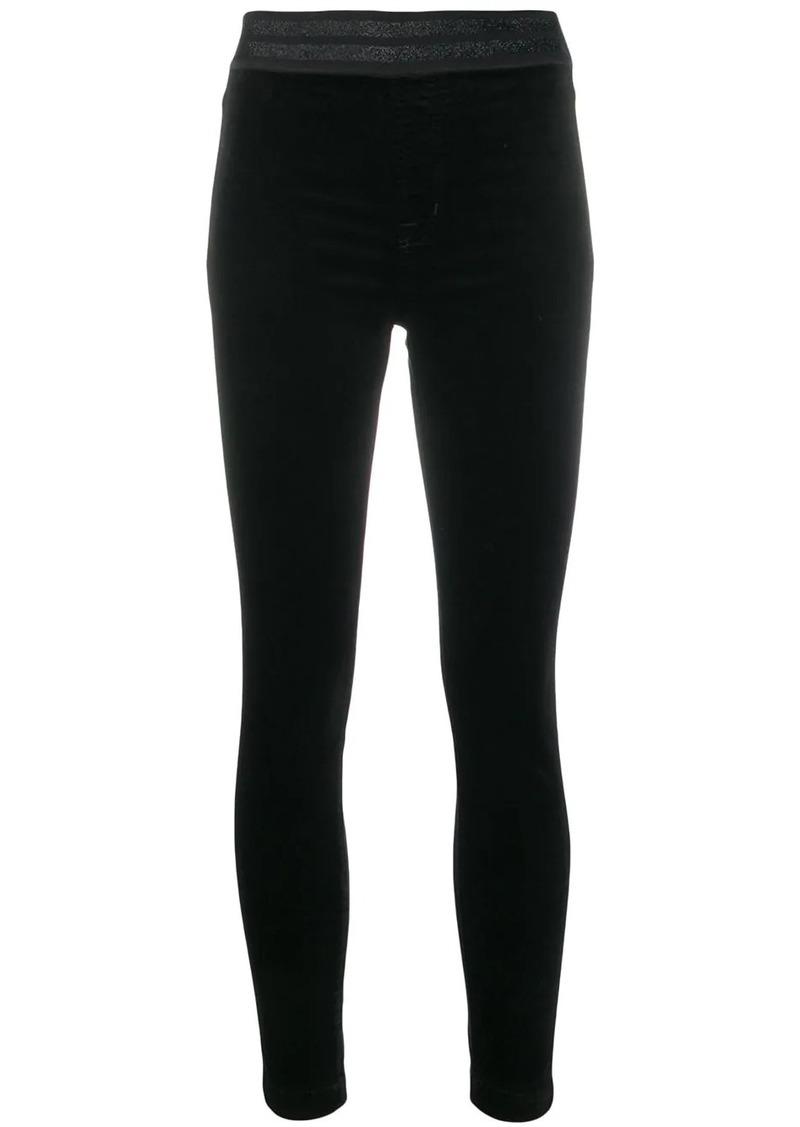 J Brand contrast waistband leggings